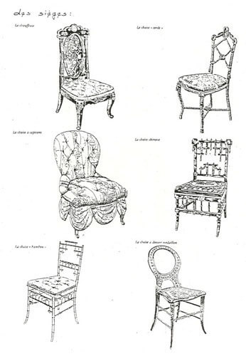 Index of styles second empire - Chaises de style ancien ...