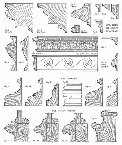restauration de meubles atelier bence caract ristiques du style louis xiii. Black Bedroom Furniture Sets. Home Design Ideas
