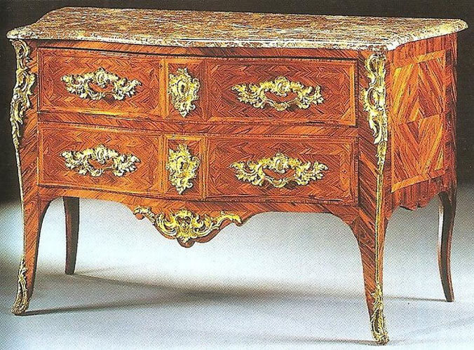Restauration de meubles atelier bence style louis xv for Meuble style louis 15