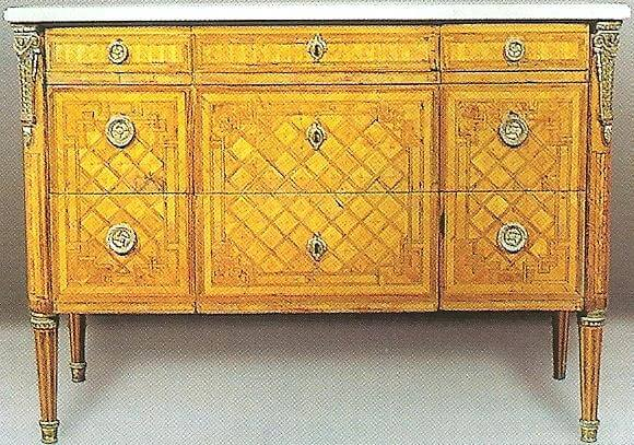 restauration de meubles atelier bence style louis xvi. Black Bedroom Furniture Sets. Home Design Ideas